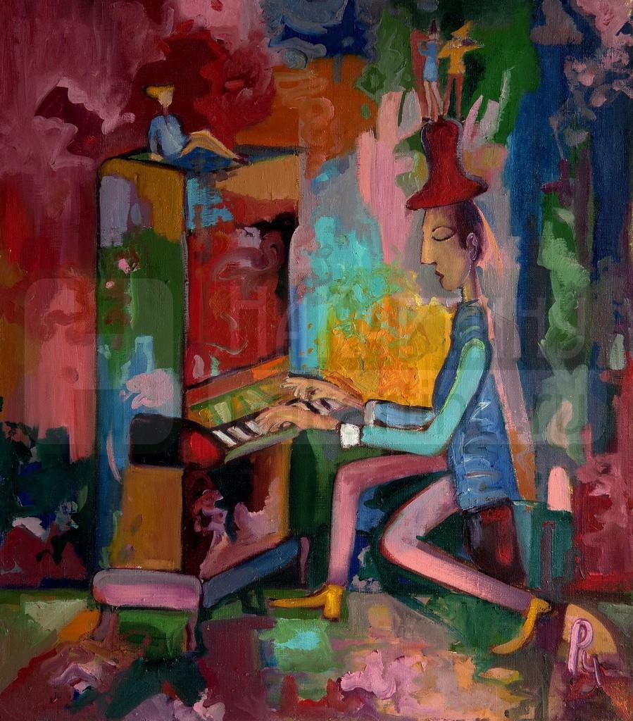Цветная мелодия