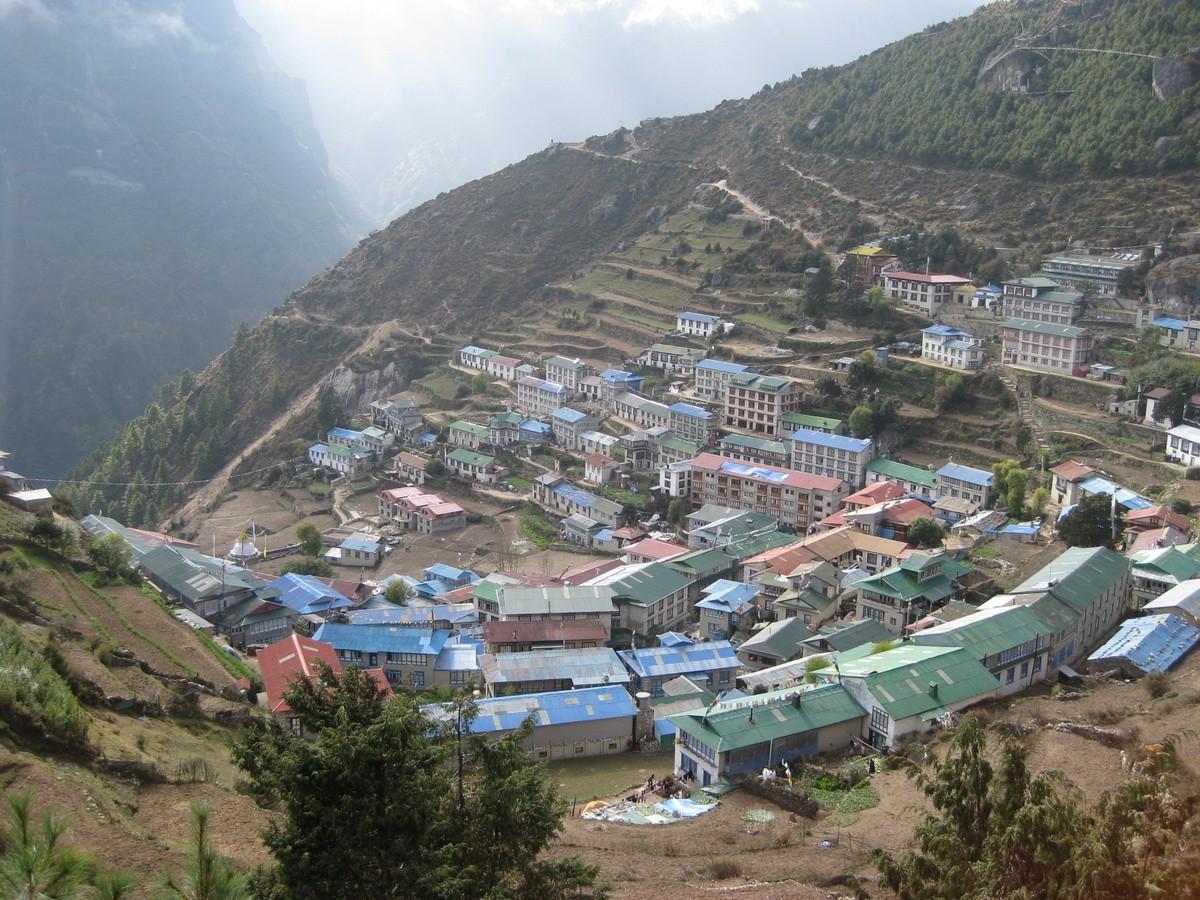 Высокогорный посёлок Намче-Базар
