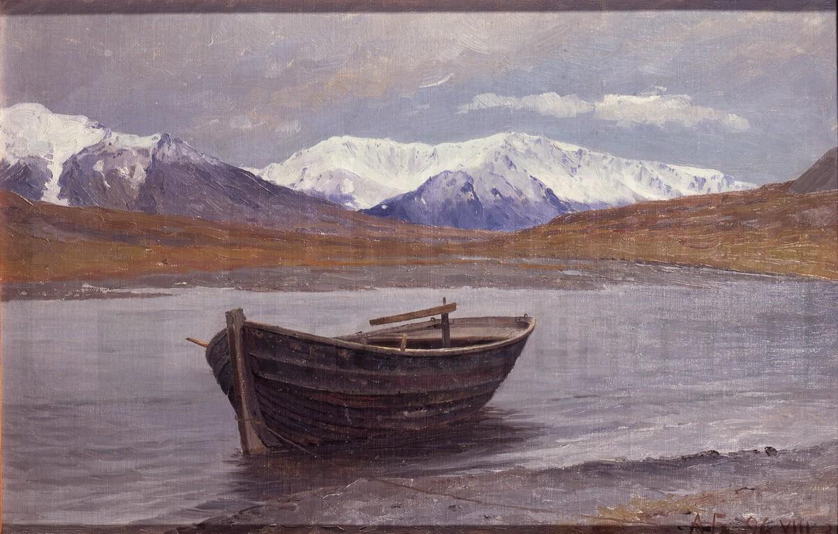 Долина реки Маточка на Новой Земле