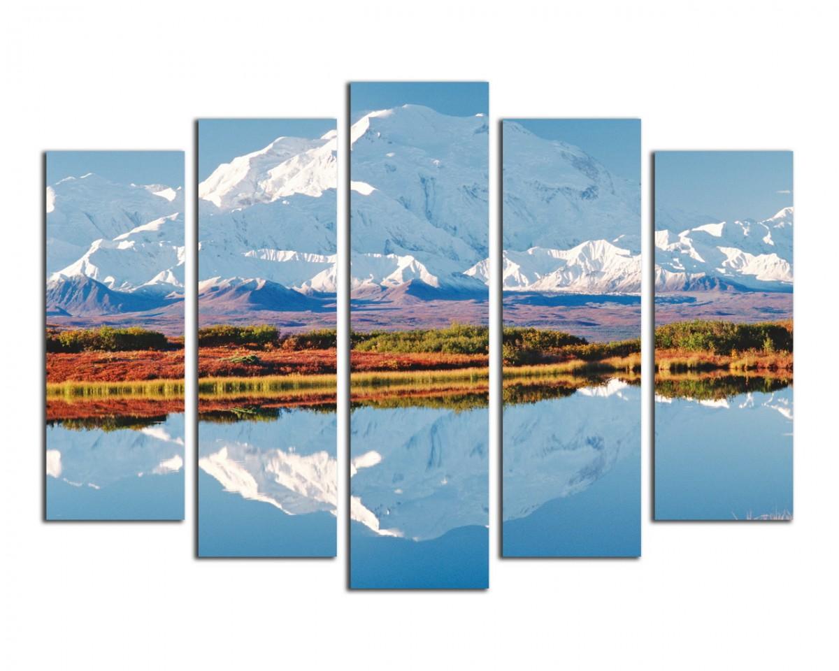 Отражение горы