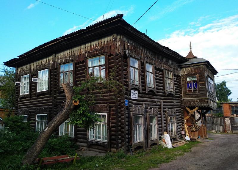 Жилой дом постройки конца XIX века