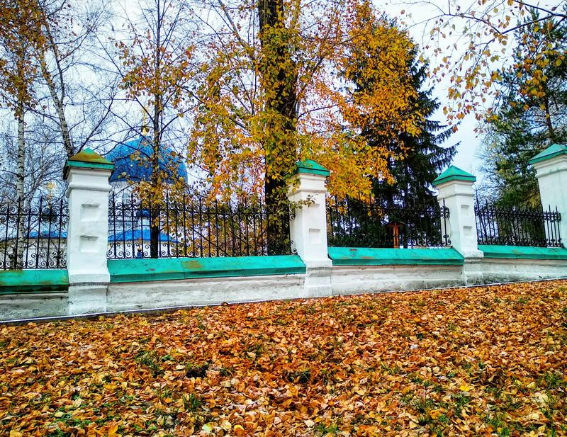 Томская осень