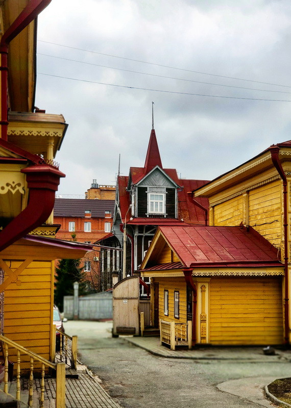 Томский дворик