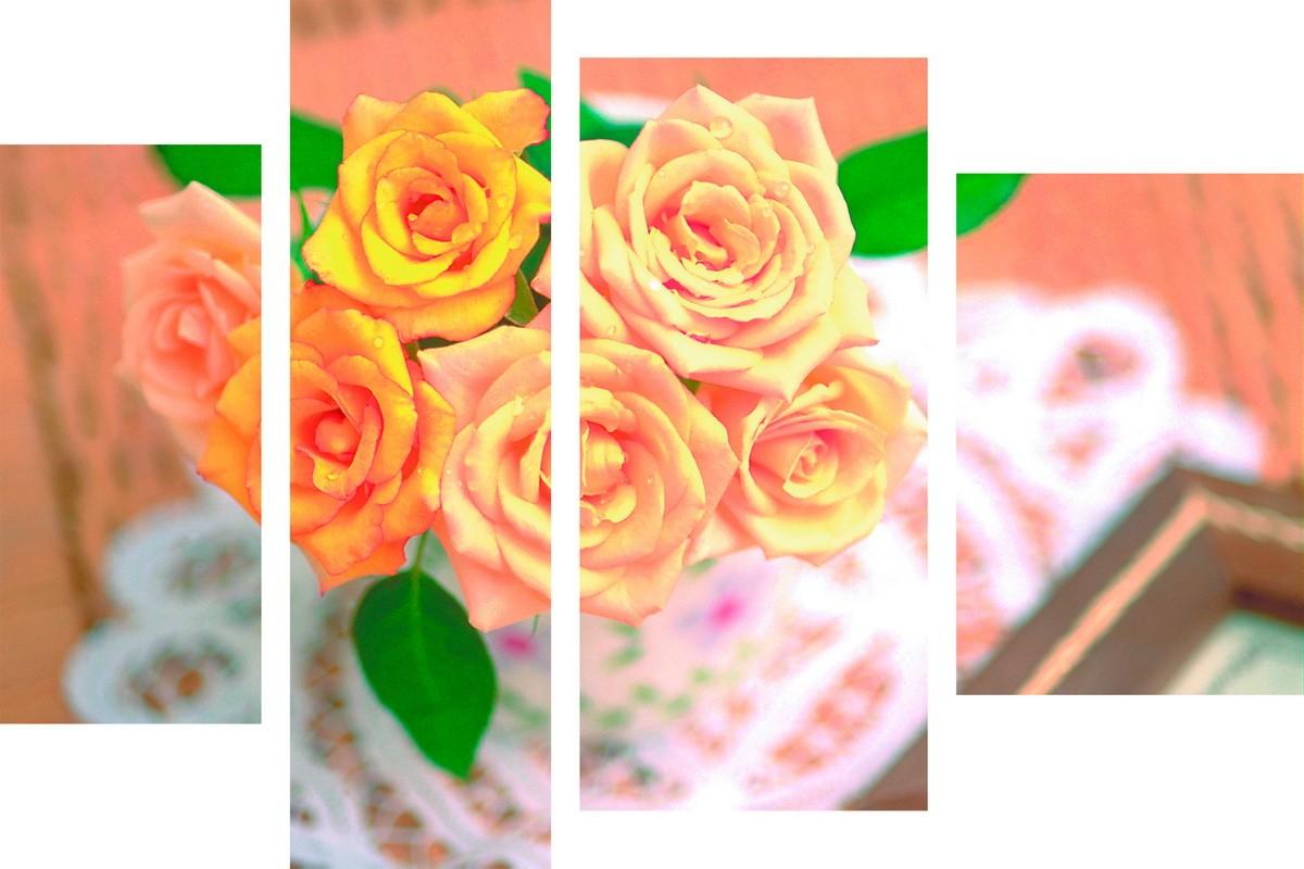 Розы на буфете
