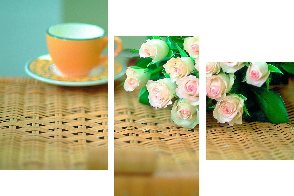 Утренний букет роз