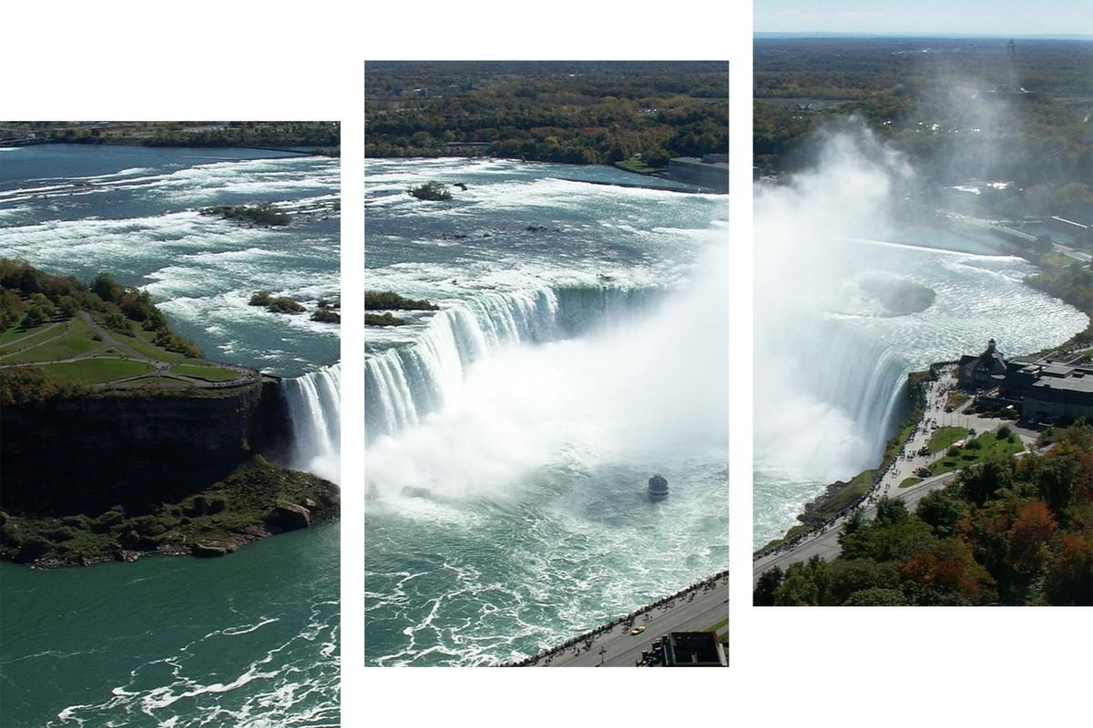 Водопад с высоты