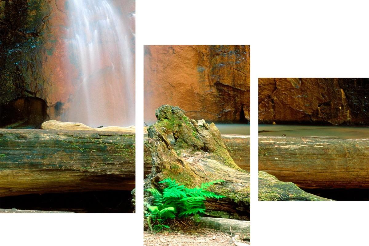 Скрытый от глаз водопад
