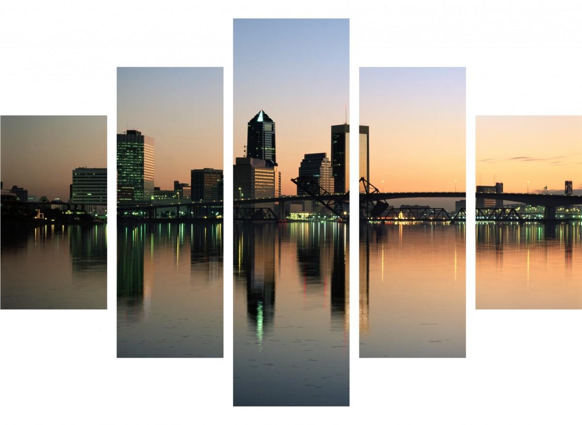 Восход над мегаполисом