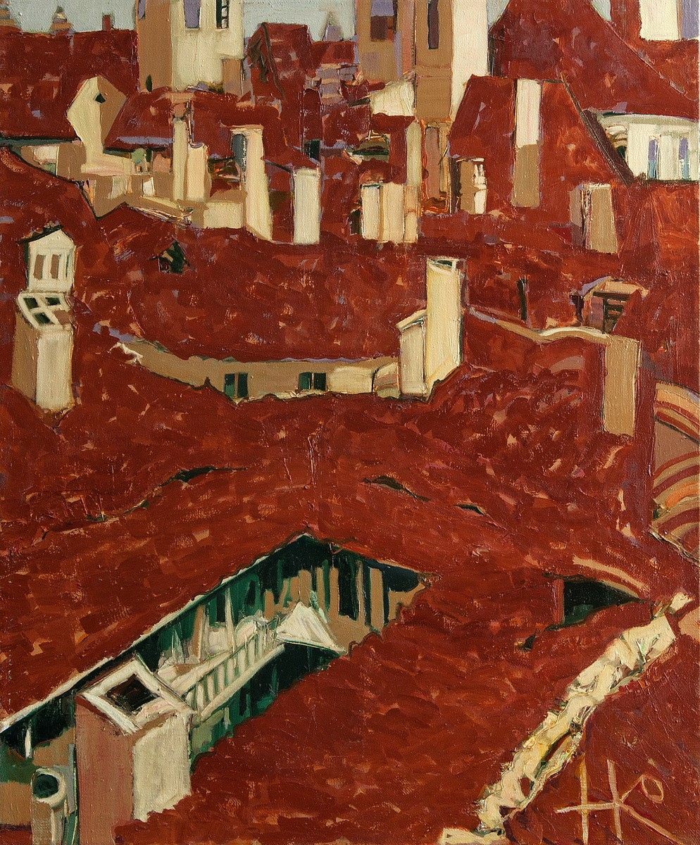 Крыши старого города