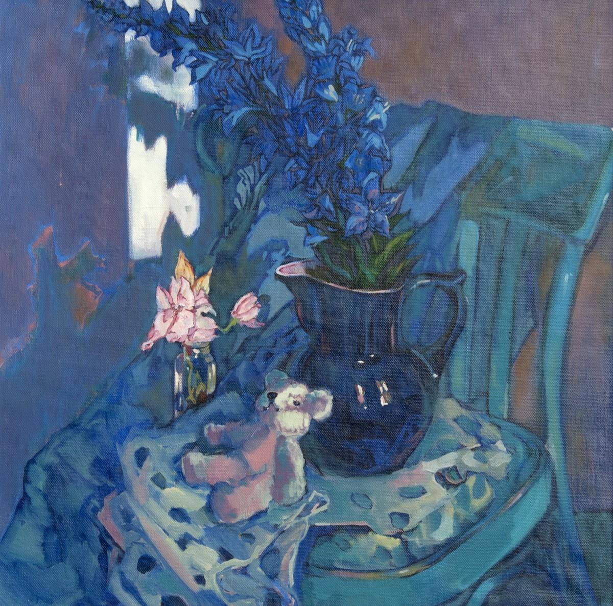 Синий натюрморт