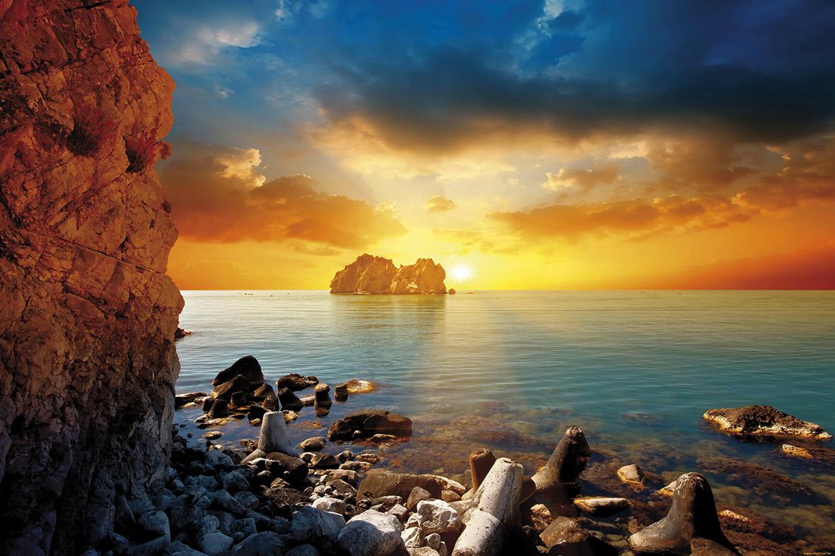 Сказочный морской закат
