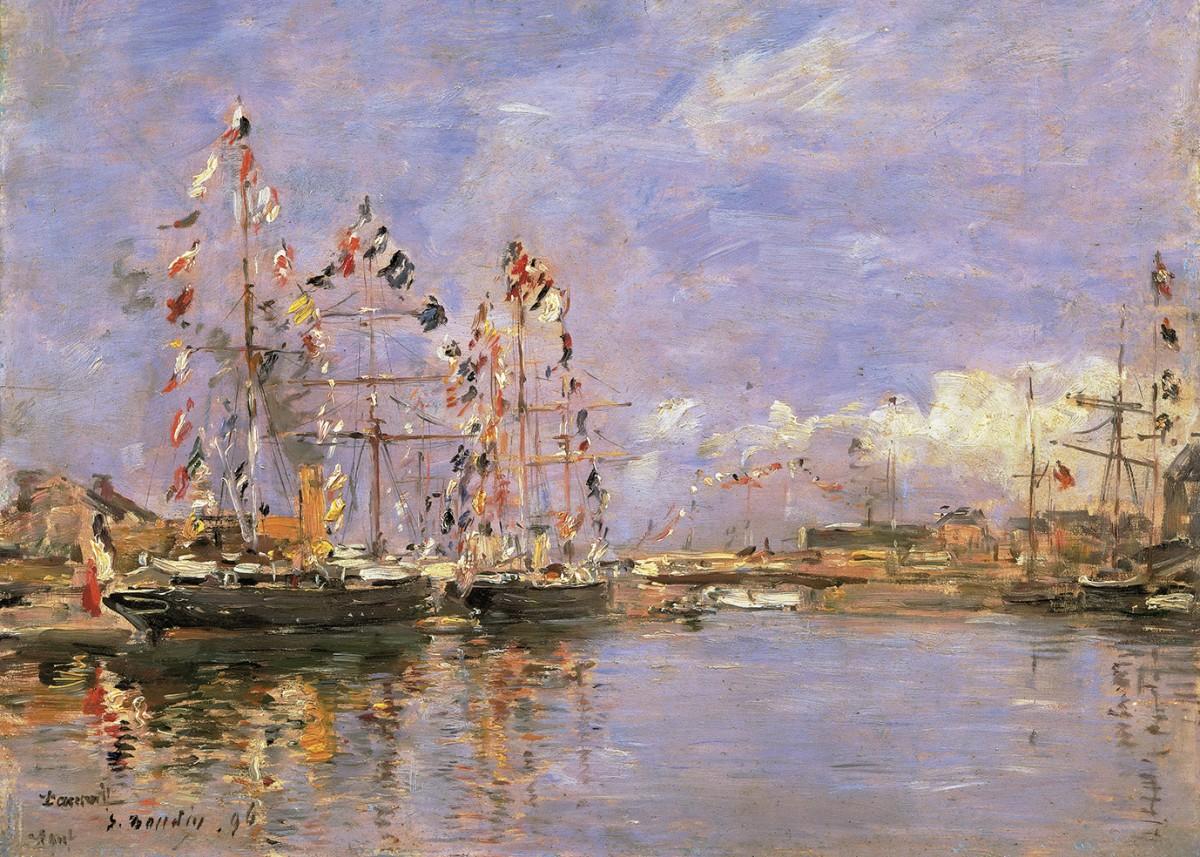 Корабли, входящие в гавань